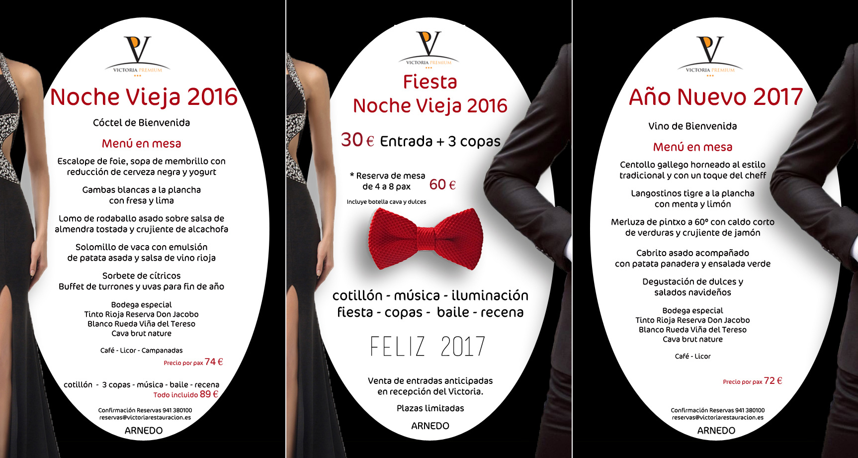 Cena Nochevieja 2016 | Cotillón | Comida Año Nuevo 2017