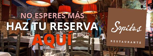 Reserva Online Restaurante Sopitas
